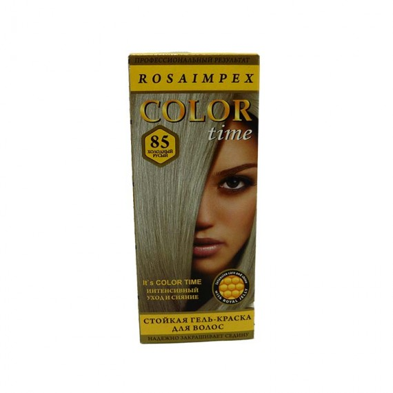 Hair dye COLOR TIME cold blond 40ml