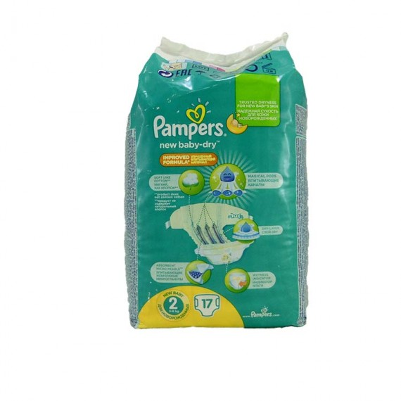 Diapers PAMPERS Micro 2 3-6kg 17pcs