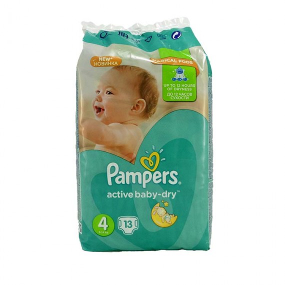 Diapers PAMPERS Micro 4 7-14kg 13pcs