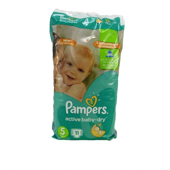Diapers PAMPERS Micro 5 11-18kg 11pcs
