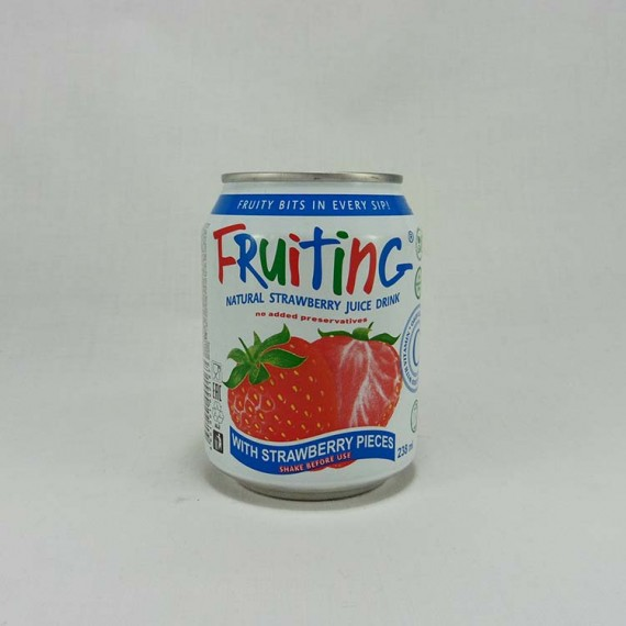 Natural juice FRUITING strawberry 238ml