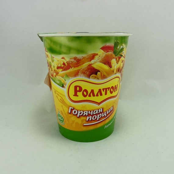 Noodles Rollton with chicken 65g