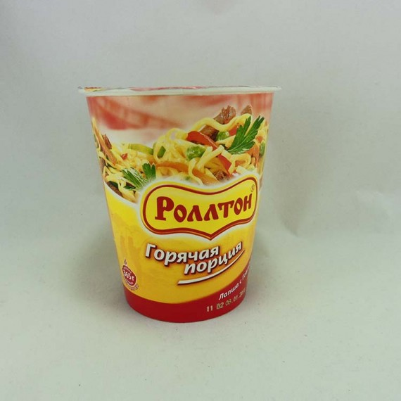 Noodles РОЛЛТОН With beef 65g