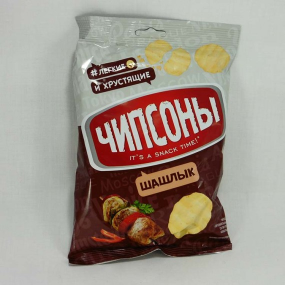 Chips CHIPSONY Sour cream, Onion 40g