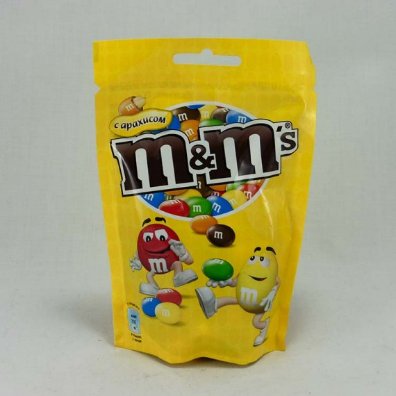 Candy M&M`s with nuts 130gr