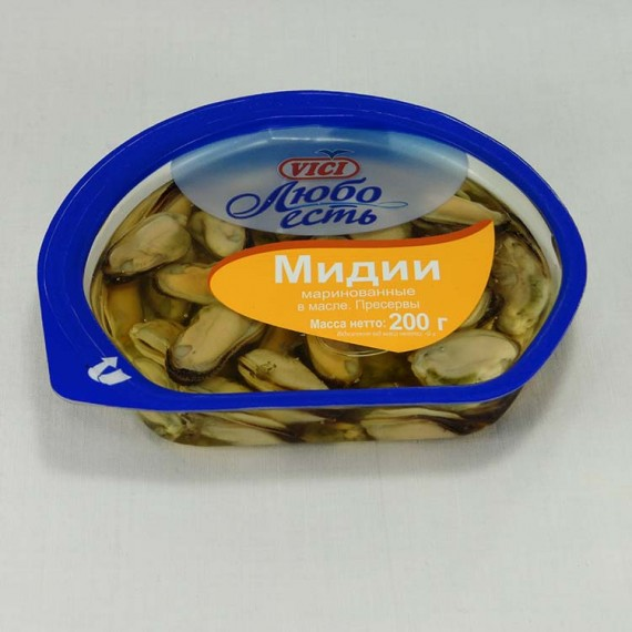 Mussels VICI marinated 200gr