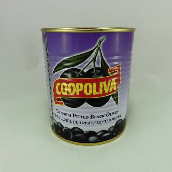 Olives COOPOLIVA pitted 500g