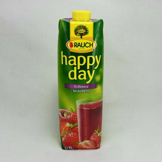 Natural juice HAPPY DAY strawberry 1l