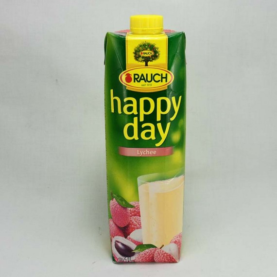 Natural juice HAPPY DAY lychee 1l