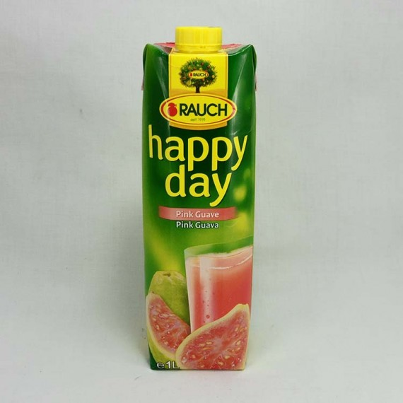 Natural juice HAPPY DAY pink guava 1l