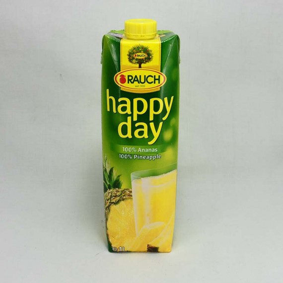 Natural juice HAPPY DAY pineapple 1l